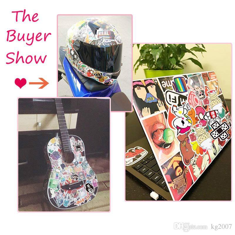 Diy водонепроницаемый виниловые наклейки пакет для детей подростков взрослых Home Decor наклейка бомба ноутбук скейтборд багаж бампер автомобиля наклейки случайные 30 шт