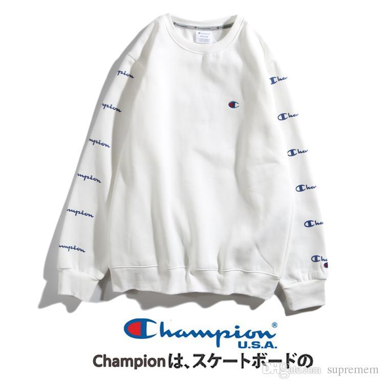 New Mens Designer Sweaters Men Women Pullovers Coat Champions Hoodie
