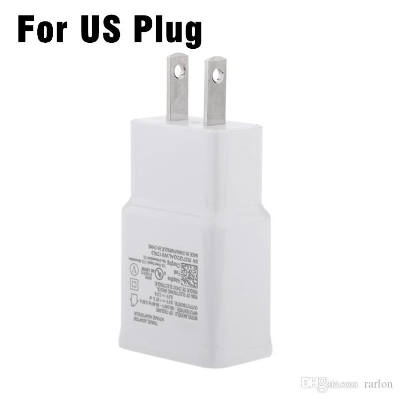 Alta calidad 5V 2A Australia AU Enchufe Cargador Rápido USB AC Power wall Cargador de Casa para Galaxy S9 S8 Note8 N7100 Google NO Paquete