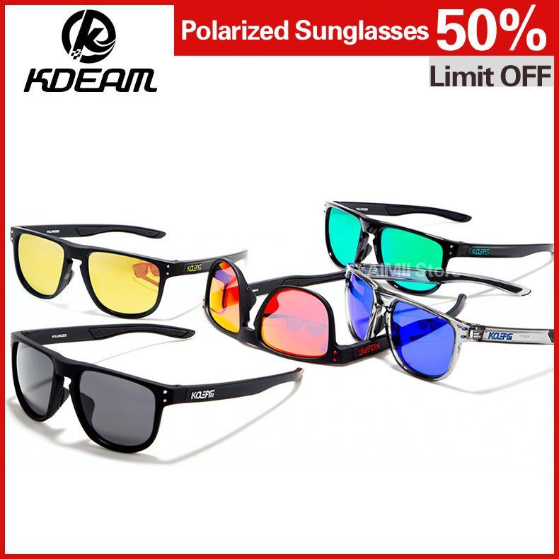 350e81c1508 KDEAM TR90 Frame HD Polarized Sunglasses Men Sport Eyewear Women ...