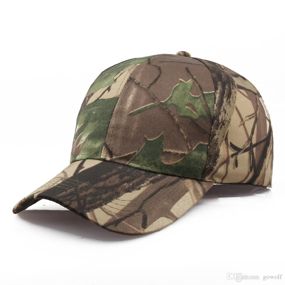 a63d7ee8540e8 2019 4 Designs Polyster Tactical Gorras CAMO Snapback Caps Autumn Casquette  Baseball Cap Designer Hats Dad Hat Bucket Fitted Hats From Gowolf
