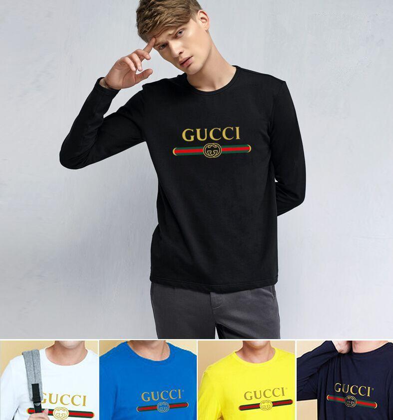 T Shirt Men Cotton T Shirt Full Sleeve Tshirt Men Solid Color T Shirts  Tops Tees Mandarin Collar Long Shirt Cotton Shirt Tee Shirts Online From  St323706 6f5bb4d66