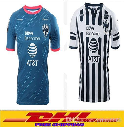2d2e1933f DHL Thai 2018 2019 Monterrey Soccer Jerseys D.PABON R.FUNES MORI ...