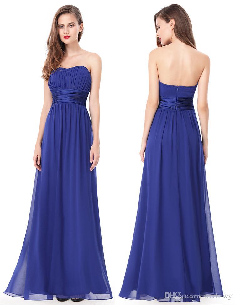 Long Bridesmaid Dress Chiffon Bra V-neck Shoulder Halter High Waist Bridesmaid Prom Dress Multi-colored Chiffon Bridesmaid Dresses HY144