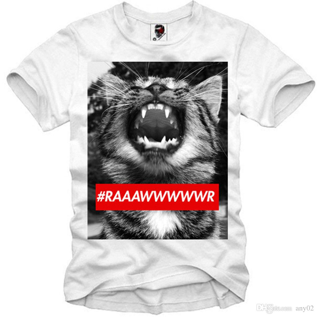5bb55541 E1SYNDICATE T SHIRT CAT LION HIPSTER WASTED YOUTH INDIE SSUR TIGER 1241C  Tie Shirts Latest T Shirt Designs From Any02, $13.19  DHgate.Com