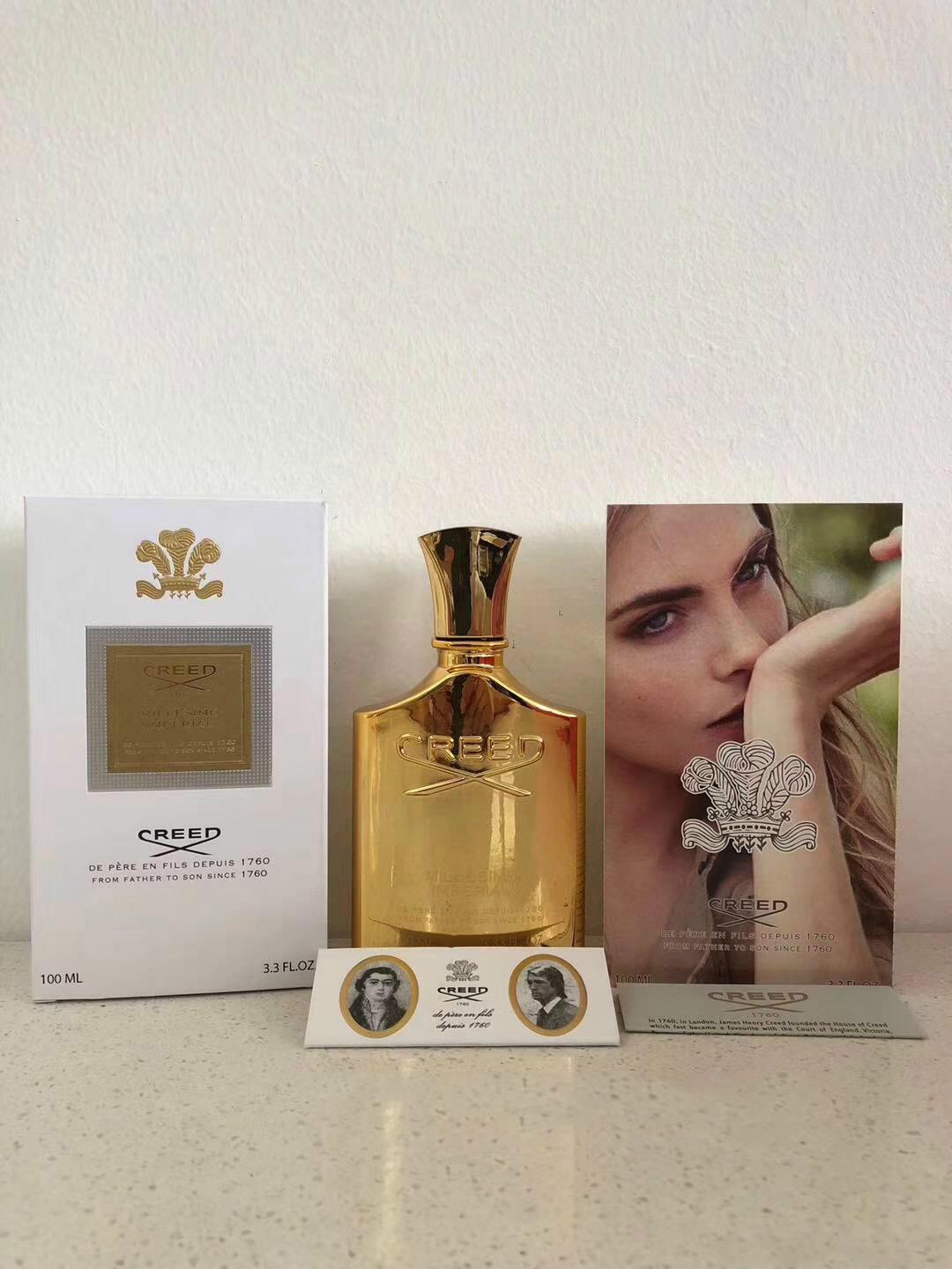 2019 Hot Golden Version Creed Millesime Imperial Fragrance Unisex