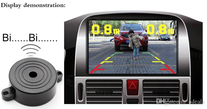 Car Parking Sensor HD Waterproof Shockproof Night Vision Reversing Backup 170 Car Rear View Camera for American license plate