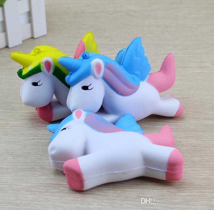 squishy kawaiitoys unicorn jumbo slow rising