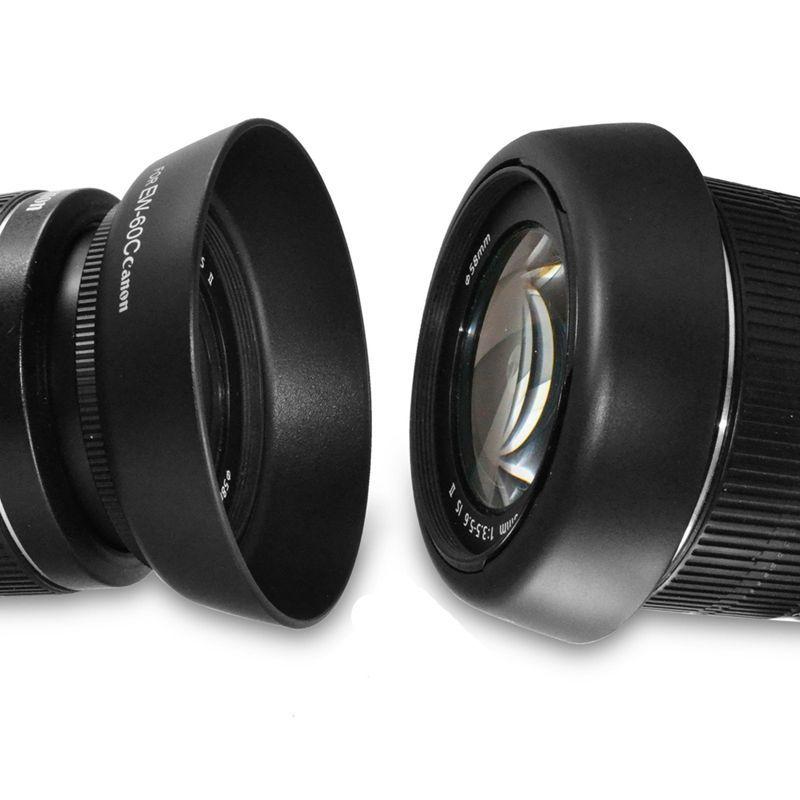 EW-54C EW-60C EW-60C EW-63C EW-73C EW-78C EW-78D EW-83E Lens Kaput Geri Dönüşümlü Kamera Lente Aksesuarları Canon Lens için