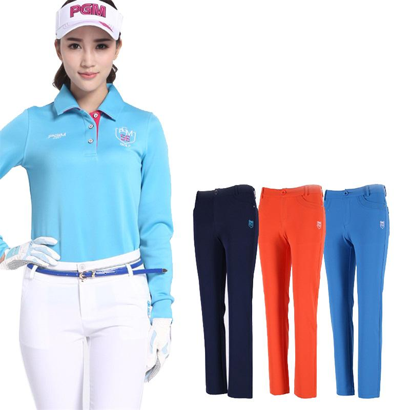 Pgm Golf Lady Clothes Women Trousers Hight Elasticity Sport Wear