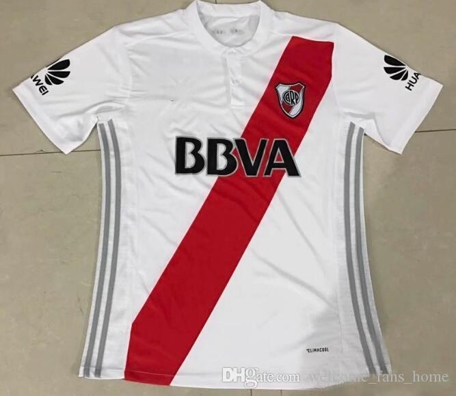 2017 Independiente River plate bed football Jerseys thai quality 17 18 8 SANCHEZ 9 CAVENAGHI 7 MORA football Jerseys free shipping