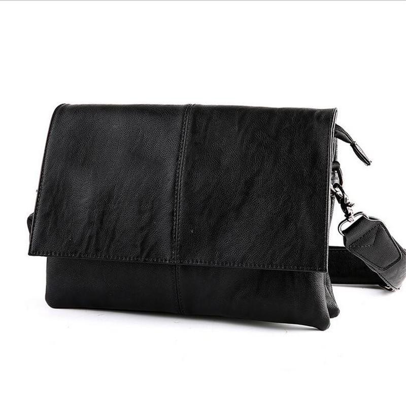 e8a02eb2c9ae 2017 Fashion Shoulder Bags For Men Messenger Bags Leather Genuine Corssbody  Casual Mens Vintage Bag Black High Quality Purses Wholesale Fiorelli  Handbags ...