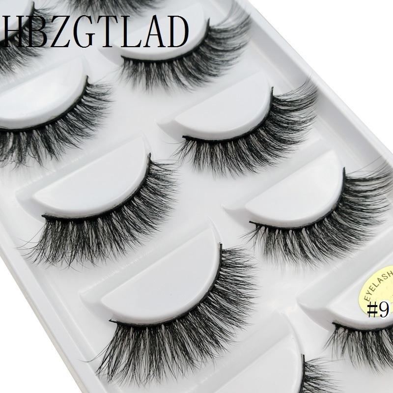 45e89c85a1d 100% Real Fake Mink Eyelashes 3D Natural False Eyelashes 3d Mink Lashes  Soft Eyelash Extension Makeup Kit Cilios Eyelash Extensions London Eyelash  Primer ...