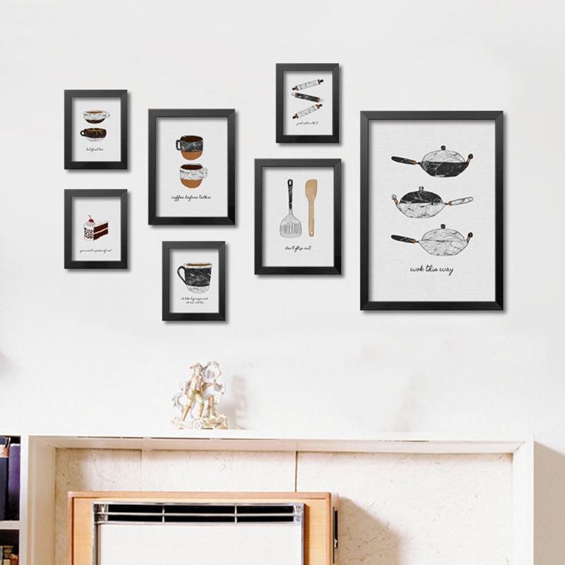 Acheter cuisine affiche moderne mur art toile peinture cuadros decoracion mur photos pour salon - Poster cuisine moderne ...