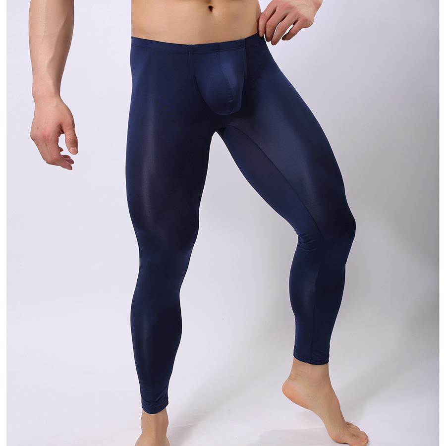 Collant Nylon Pour Homme acheter pantalon de pyjama transparent en nylon homme sexy