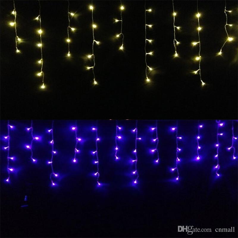 acheter guirlande de noël led rideau icicle string light 4.5m