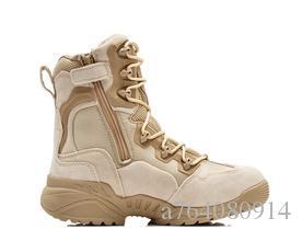 e128368fe7daf Compre Hombres De La Marca Botas Militares Del Ejército Fuerzas ...