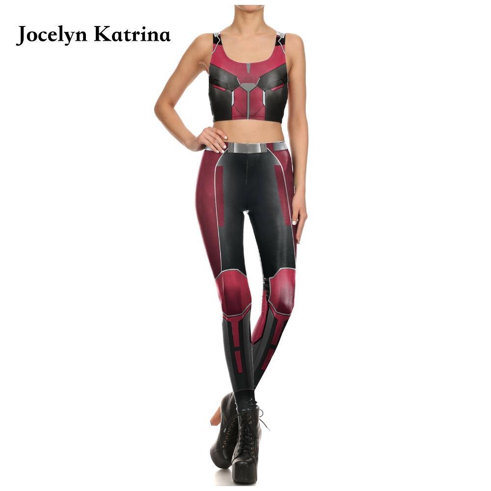 cb4902aa101b 2019 Jocelyn Katrina Fitness Yoga Sets Women Running Sports Suit Sports Bra  + Elastic Leggings Pants Workout Gym Sportwear Set From Capsicum