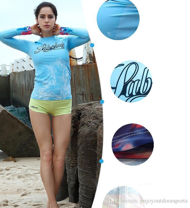Combinaisons Femmes Plongée Manches Longues Surf Plongée Combinaisons De Plongée Femmes Costumes De Plongée Tenir Cool Combinaisons De Snorkeling Bikini Maillot De Bain Brésilien