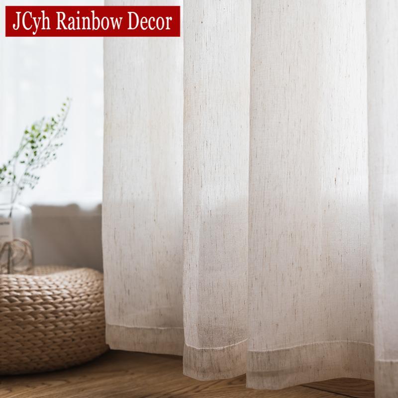 Tende di tulle solide per soggiorno Camera da letto Tende trasparenti  bianche Organza Voile Window Fabric Blinds Drapes Cortinas