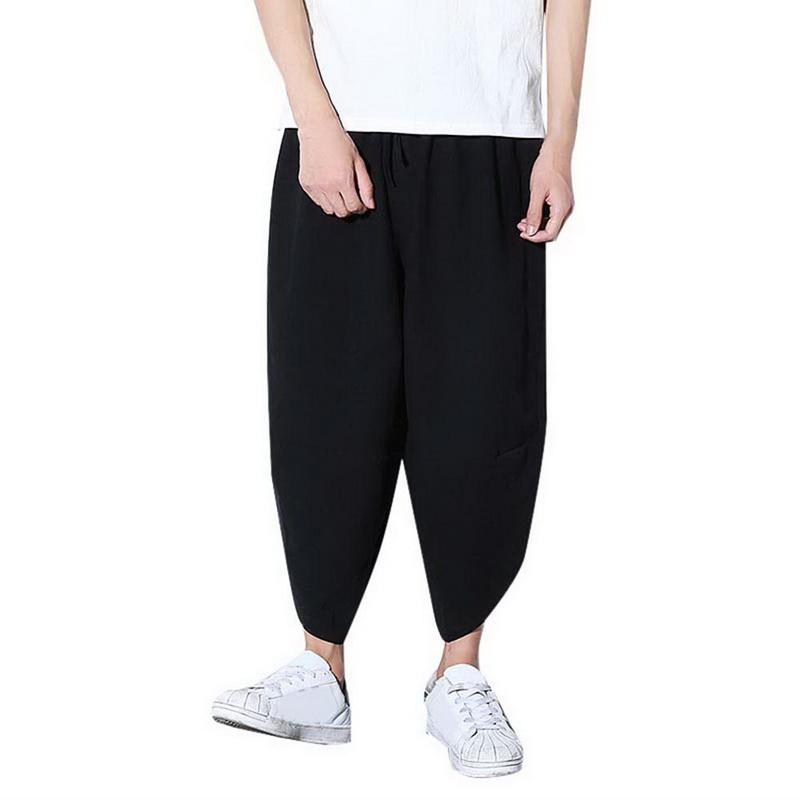 36de01780ada Acquista 2018 Pantaloni Da Corsa Larghi Da Uomo Plus Size 3XL Pantaloni Da  Uomo Harem Pantaloni Larghi Da Gamba Hip Hop Sport Streetwear Da Uomo  Jogging A ...