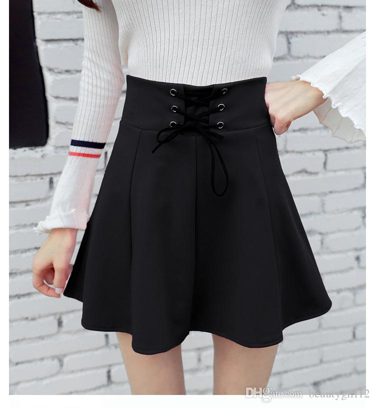 The new skirt of the skirt of the new dress in 2018 is A skirt with A high waist and A high waist