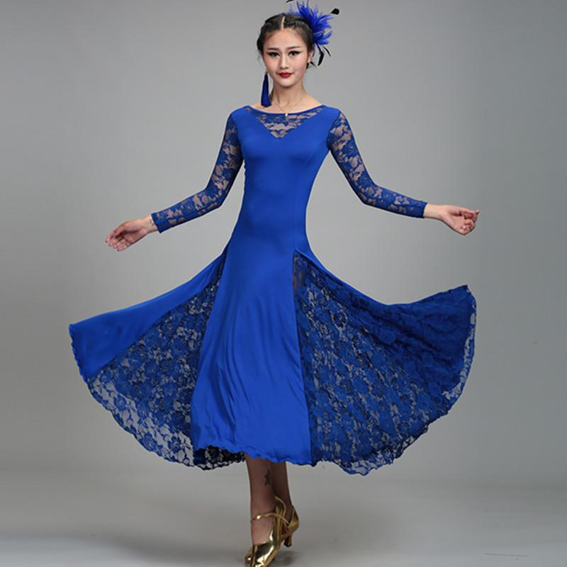 af360bfd90c4 Standard Ballroom Dress for Ballroom Dancing Standard Viennese Waltz Dress  Flamenco Spanish Dance Costume Aliexpress Aliexpress.com Online Shopping  Online ...