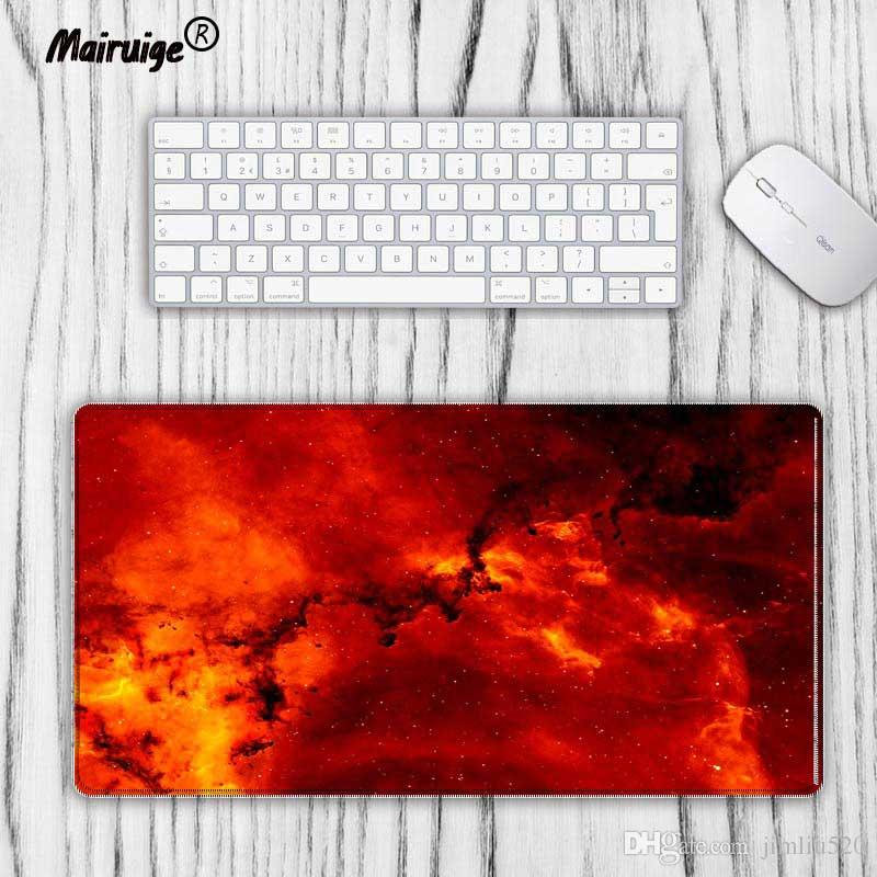 Computer & Office Mairuige Fashion Old World Map Large Locking Edge Mouse Pad Natural Rubber Computer Gaming Mousepad Desk Mat For Lol Cs Go Dota Mouse & Keyboards