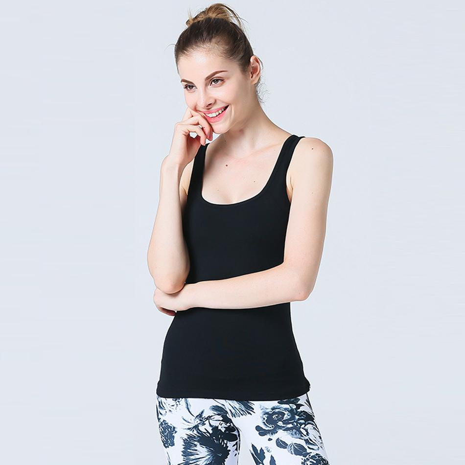 02f4893145 2019 JNC Womens Large Circle Cutout Mesh Yoga Tank Tops With Built In Bra  Slim Fit Cut Fitness Gym Shirts From Enjoyweekend
