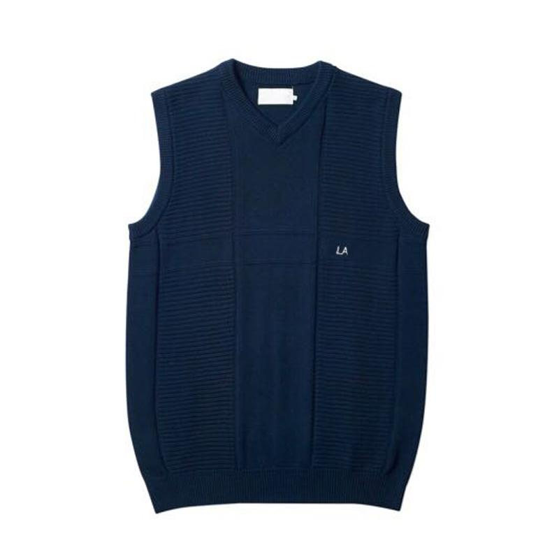 fd2f7e8e54 2019 New Men S Simple Business Casual Knitted Vest Sweater Sleeveless  Spring Autumn Winter Sweater Vest Vintage Warm Sweaters Tops HFYMMY001 From  Lisa002