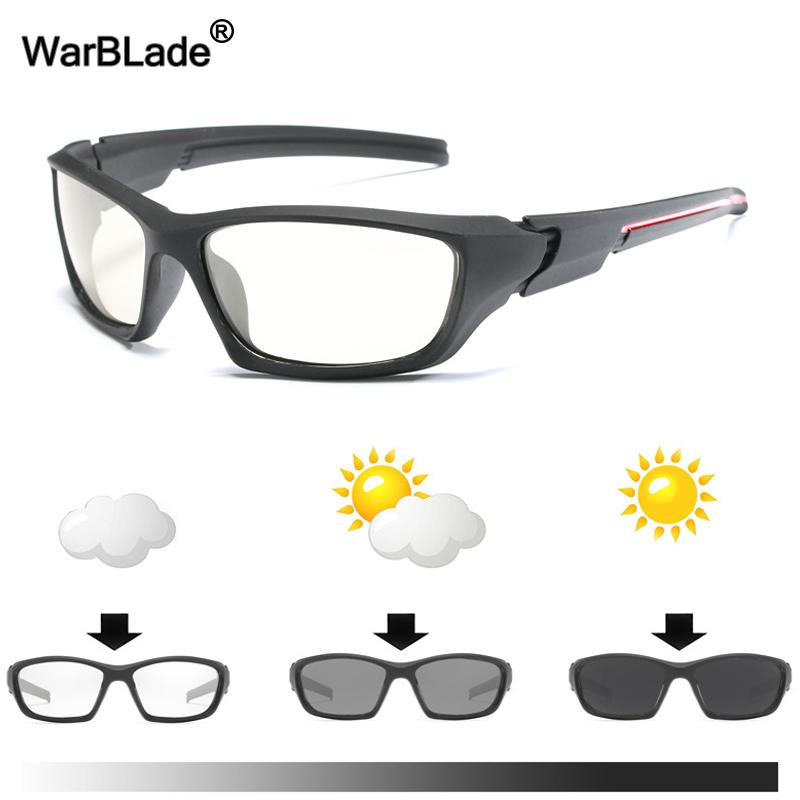 a6ae7cd4dd WarBLade 2018 New Men s Driving Photochromic Sunglasses Men HD Polarized  Chameleon Sun Glasses For Male Oculos De Sol Masculino Sunglasses Sale Kids  ...