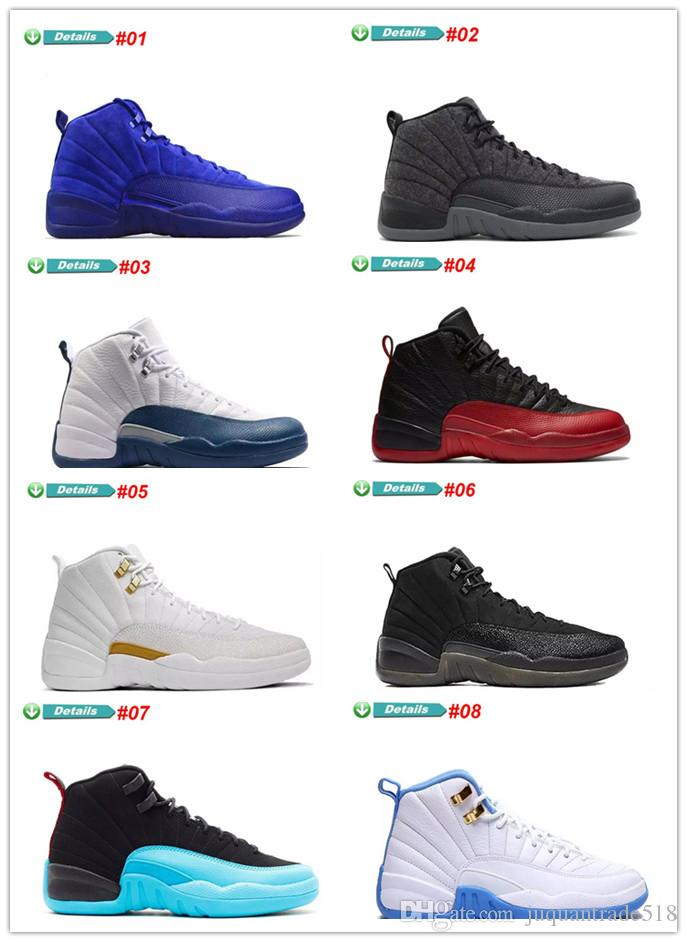 8e46e346e72134 2019 Hot 12 GS Hyper Violet Youth Pink Valentines Day 12s Plum Fog Flu Game  Basketball Shoes Girls Master Taxi Sneakers Women US 5.5 13 From  Juquantrade518