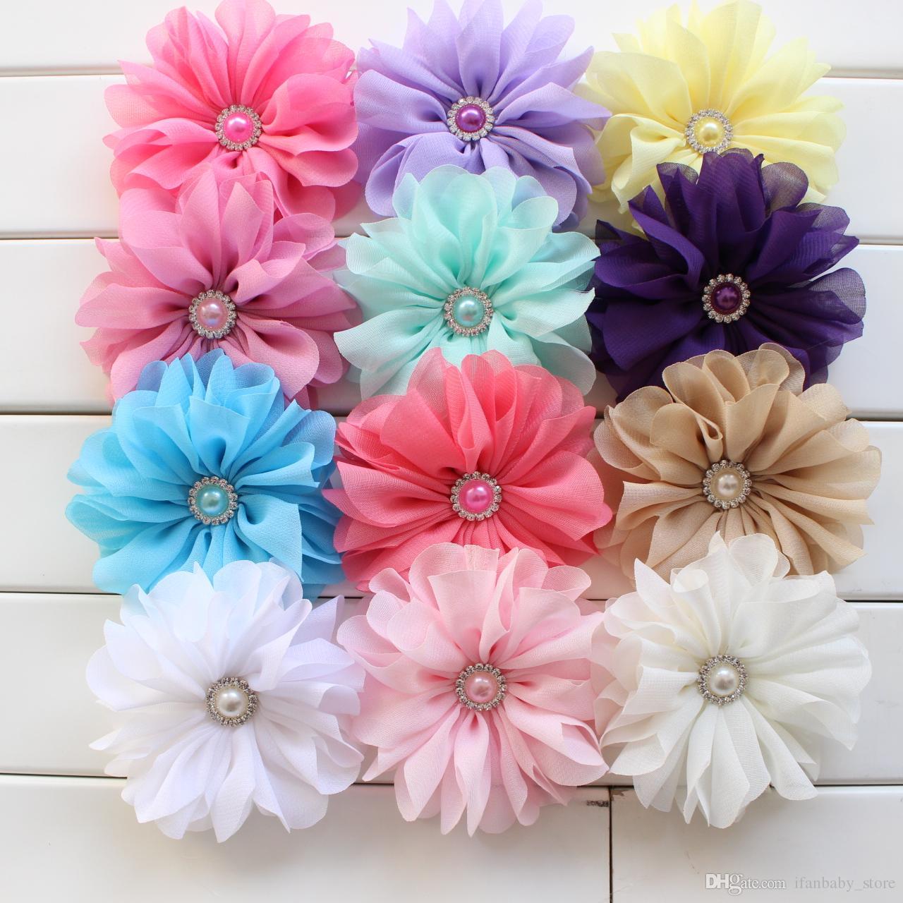 Цветки на повязки