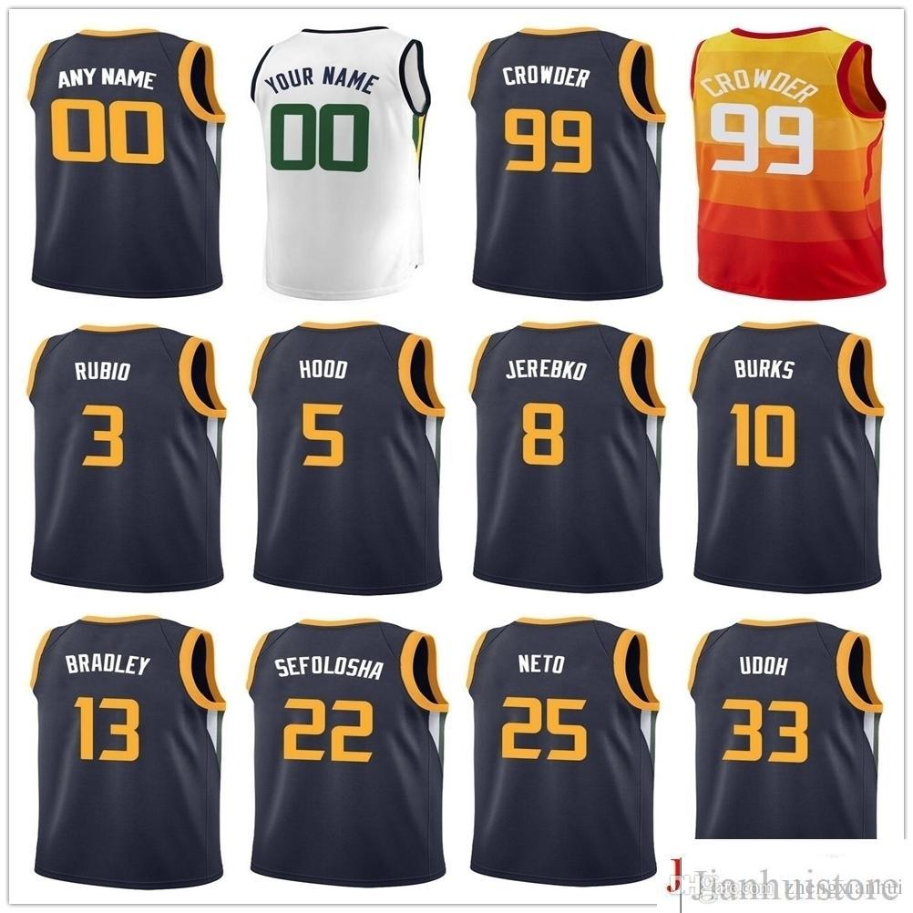 fe2c720d56e ... purchase 2018 printed 99 jae crowder jerseys joe ingles joe ingles  rodney hood rodney hood alec