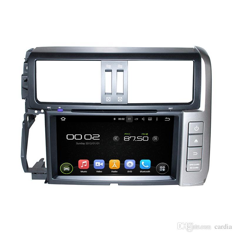 8inch 4GB RAM Andriod 8.0 Octa core Car DVD player for Toyota PRADO with GPS,Steering Wheel Control,Bluetooth,Radio