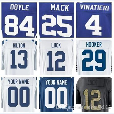 092dbef95 2018 Indianapolis Andrew Luck Jersey Colts D'Qwell Jackson Vapor ...