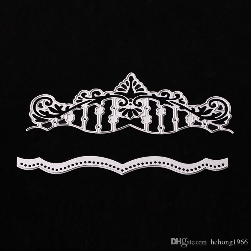 2019 diy crown cutting dies stencil scrapbook card paper craft home rh dhgate com