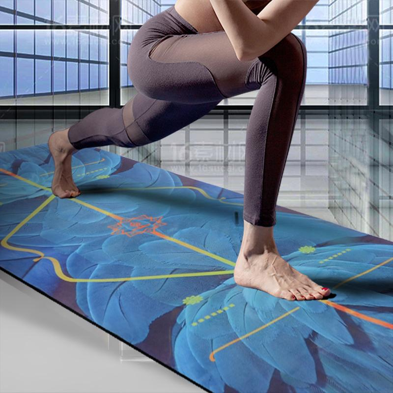 2019 New Yoga Mat Beginner Non Slip Men And Women Natural Rubber Yoga Mat Fitness Shop Towel From Curtainy $108 73