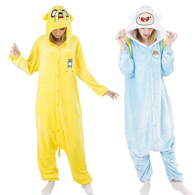2016 Winter Pijama Sleepwear Hot Cartoon Adventure Time With Finn And Jake  Cosplay Costumes Cute Lovely Pajamas D18110502 UK 2019 From Shen8403 eb40cca12