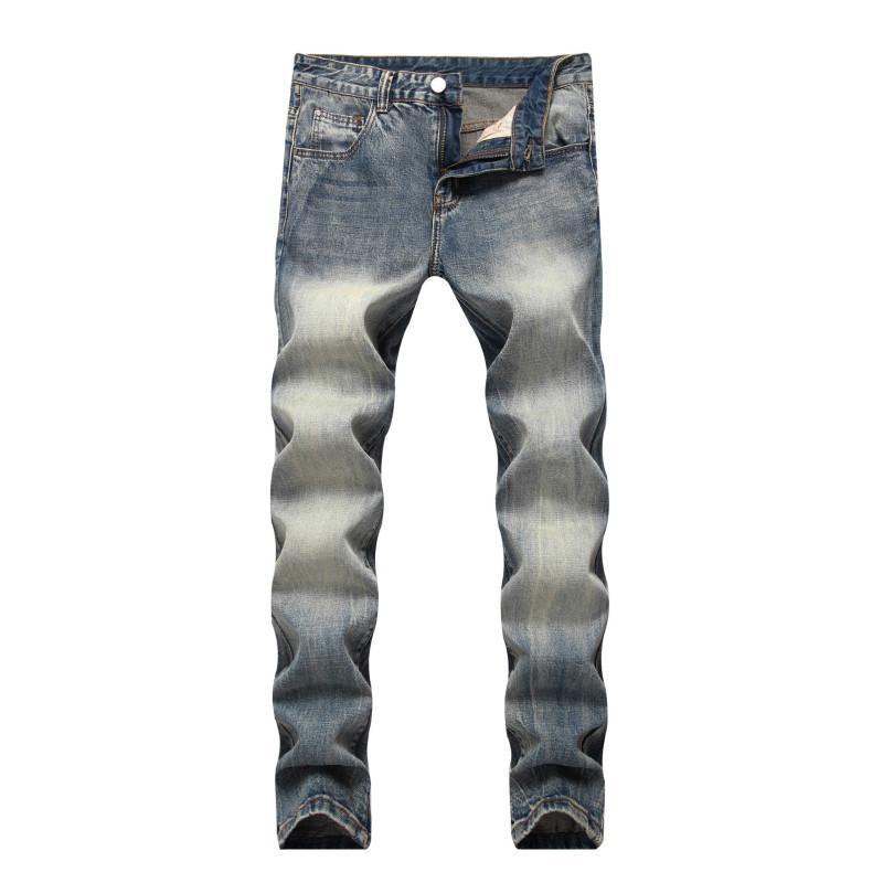 Acheter Jeans Hommes 2018 Automne Hiver Classique Pantalon Droite Casual  Jean Denim Homme Jeans Skinny Pantalon Chaud Taxi Pantalon Homme De  57.39  Du ... f9d7e4a2d8d3