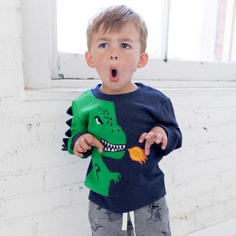 a3c8f214924faf Little maven 2018 autunno ragazzi vestiti di marca bambini felpe di ...