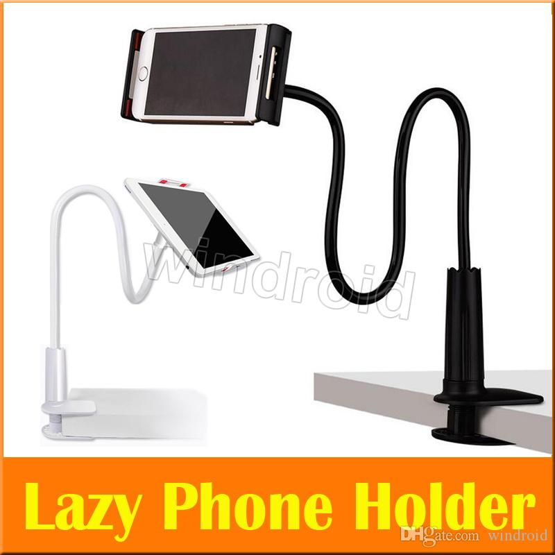 Consumer Electronics Phone Holder Flexible Long Arms Mobile Holder Universal Cell Phone Desk Stand For Iphone X Xs Max Samsung Tablet Ipad Stand High Quality Goods