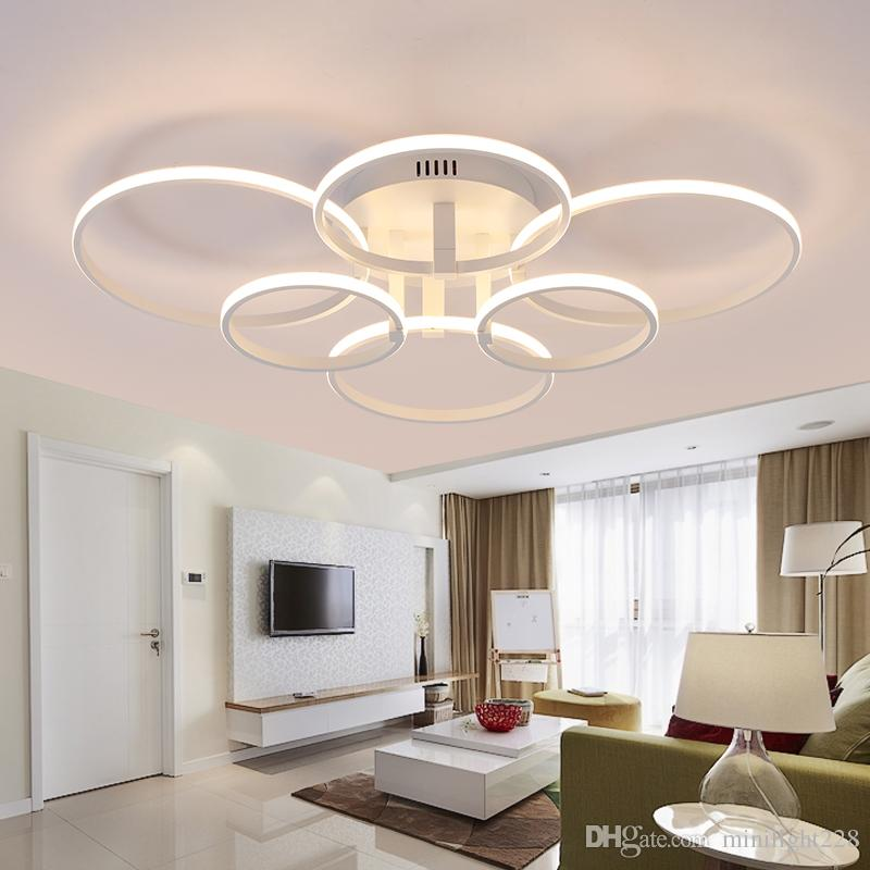 Elegant 2018 New Design Led Ceiling Light For Living Room Dining Bedroom Luminarias Led Lights For Home Lighting Fixture From Minilight228 $103 12 For Your Plan - Simple living room lighting New Design
