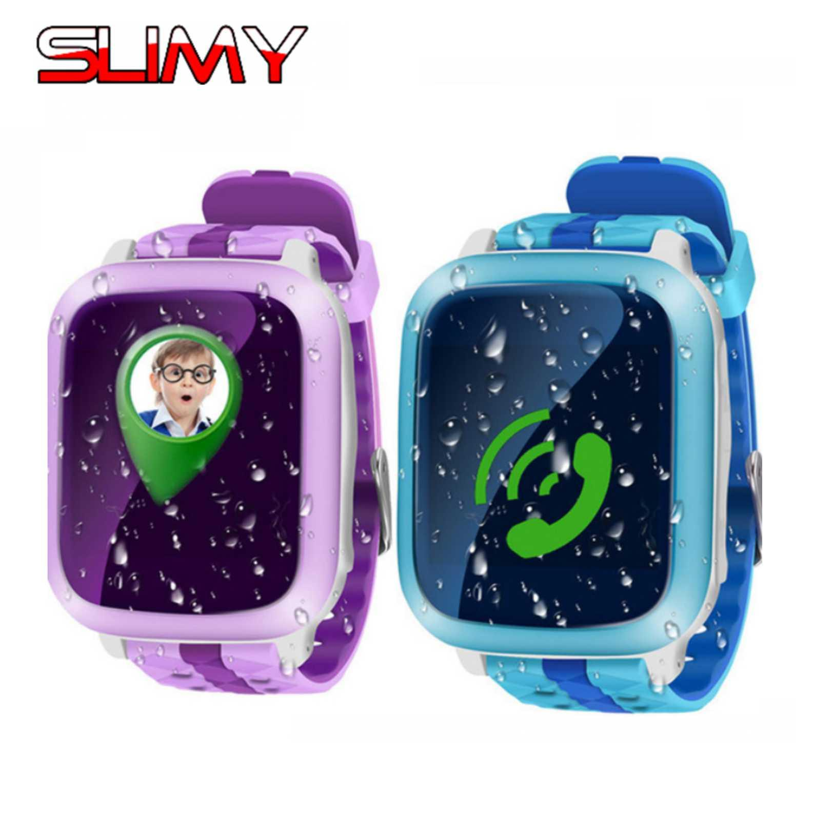 Wholesale Ds18 Smart Watch Kids Children Baby Gps Wristwatch Location Tracker Sos Call Sms Support 2g Sim Card Smartwatch Pk Q50 Q90 Smartwatch Gear