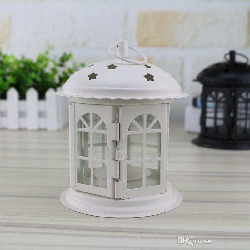 Decorative Moroccan Lantern Votive Candle Holder Hanging Lantern Vintage Candlesticks Home Centerpieces Wholesale ZA6017