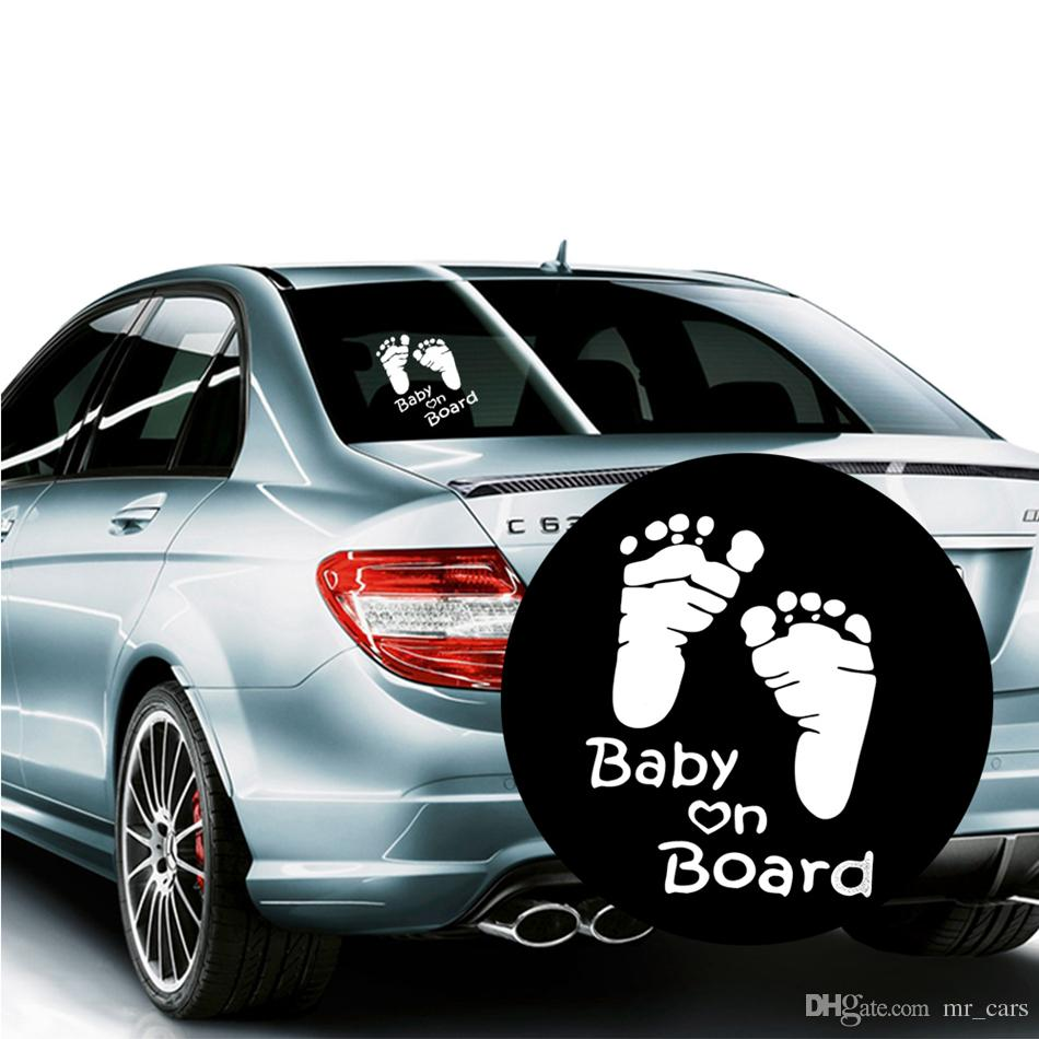 2019 baby on board vinyl car graphics window vehicle sticker decal diy kawaii reflective auto car sticker ooa4848 from mr cars 0 53 dhgate com