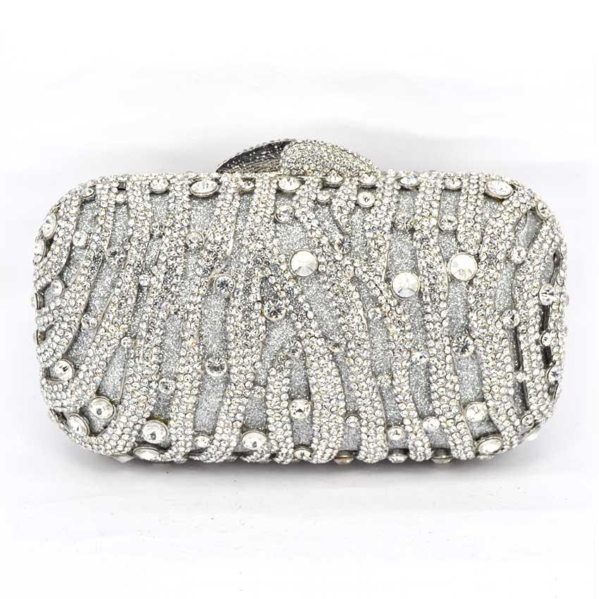 178ec280b292 Stylish Red Women Rhinestone Evening Bag Luxury Crystal Studded Diamante  Designer Clutches Evening Party Purse Ladies Clutch Bag Handbags Uk Leather  Purses ...