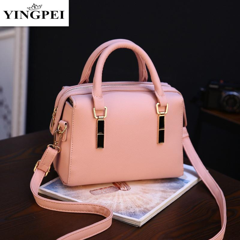 a04b90533ba7 YINGPEI 2017 New Women Messenger Bags Leather Shoulder Bag Ladies ...