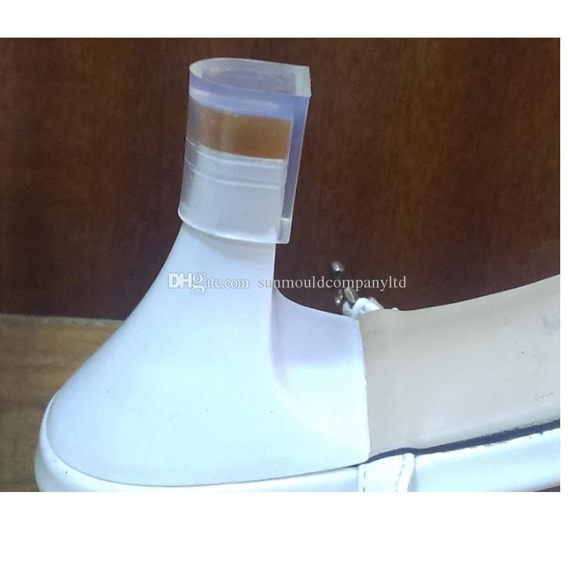 4 misure scarpe donna stivali Tacco alto Protector Latino Stiletto Danza Copre tallone Tappi di nozze e di partito