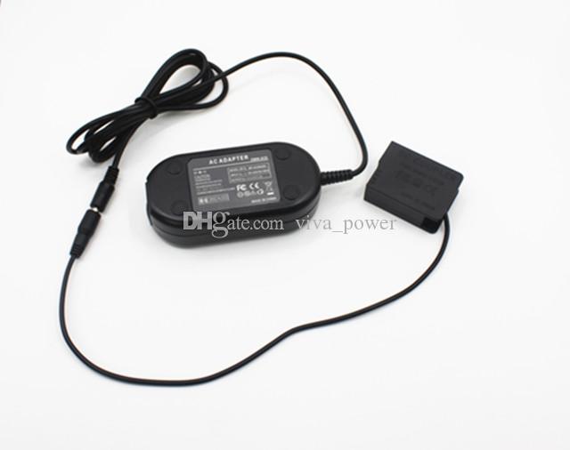送料無料DMW-AC8 + DMW-DCC8 DCカプラAC電源アダプタ、パナソニックLumix DMC-GH2 GH2H用カメラ電源